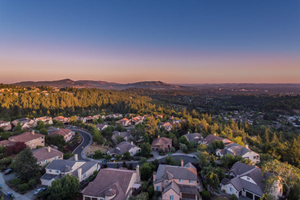 Fountain Grove Aerial Twilight (1 of 1)