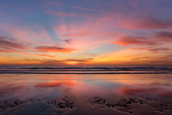 Ponto Beach Sunset (1 of 1)