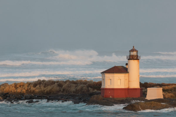 Bandon Light from Across the Coquille - Web Size (1 of 1)