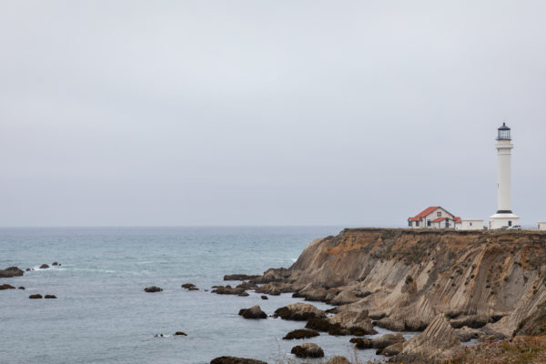 Point Arena Lighthouse - Web Size (1 of 1)